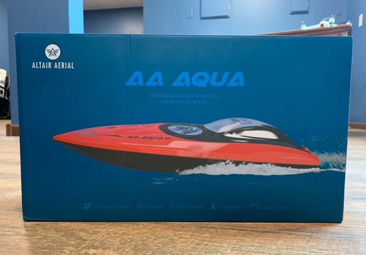 AA Aqua Review unbox