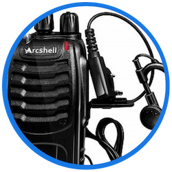 best walkie talkie for kids Arcshell Rechargeable Two-Way Radios