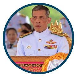 thailand king rama x coronation drones