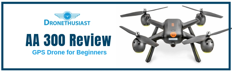 AA300 gps drone for beginners