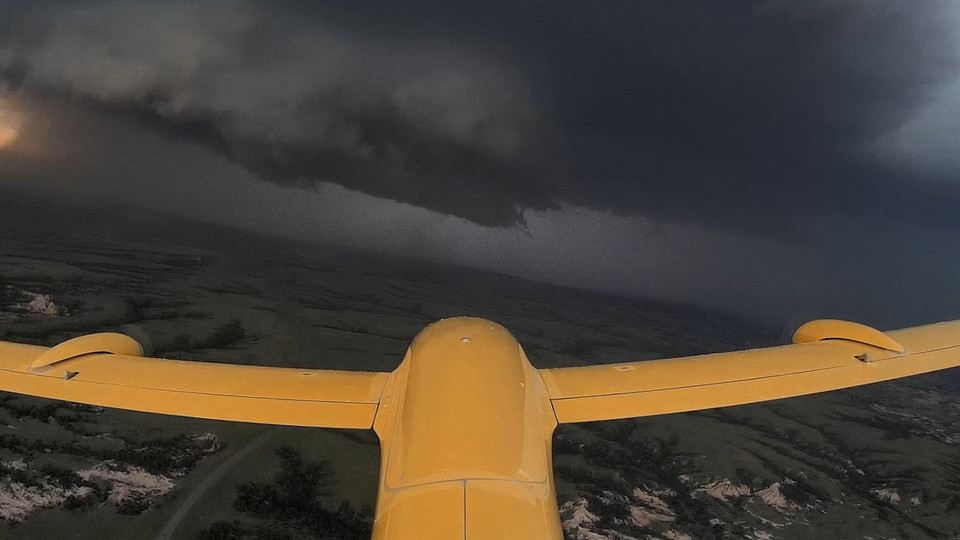 drones helping with tornados