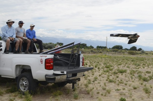 university of oklahoma drone technology predict weather
