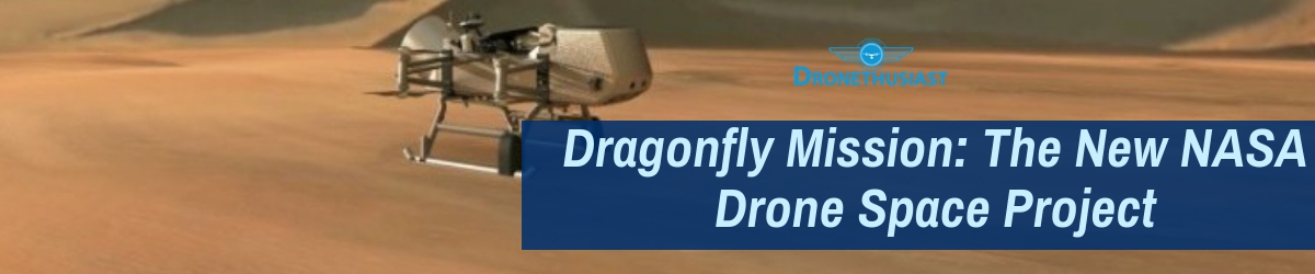 nasa dragonfly mission drones