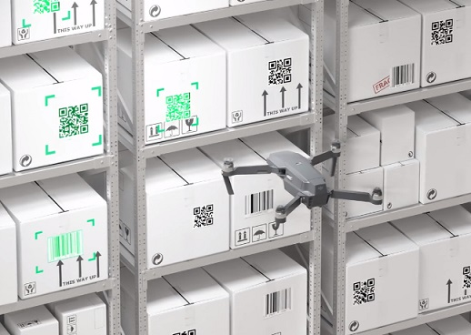 gather drone startup managing warehouses