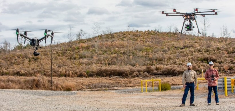 drones bp cut down methane emissions