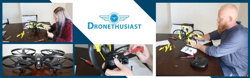 dronethusiast team reviewing drones for kids