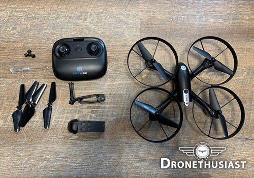 Falcon-drone-pieces