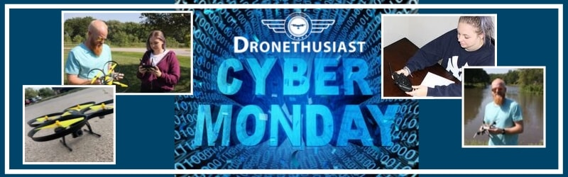 cyber monday dronethusiast drone deals
