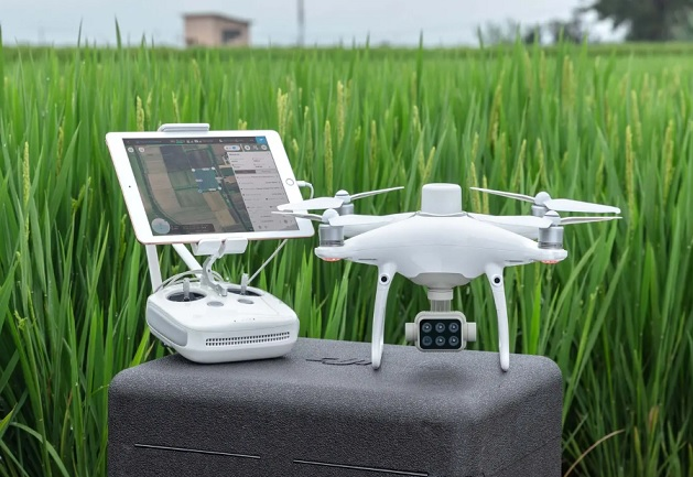 dji p4 multispectral new drone