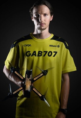 drone racing league gabriel kocher