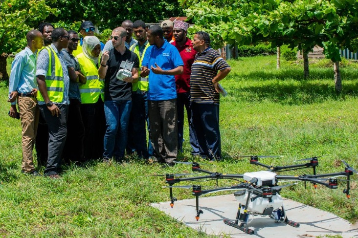 drones fight malaria in tanzania