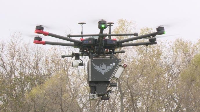 drones firefighting