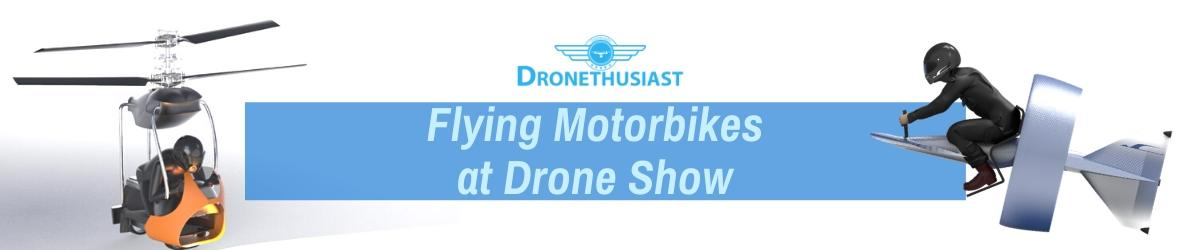 flying motorbikes take flight drone show dronethusiast
