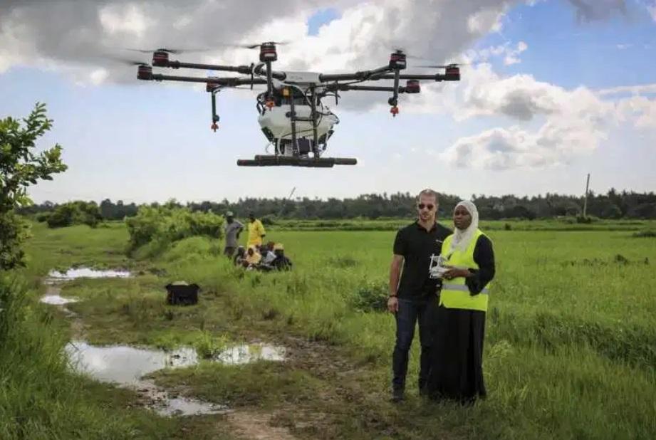 malaria tanzania drones