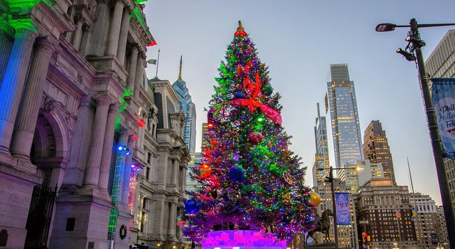 philadelphia christmas tree