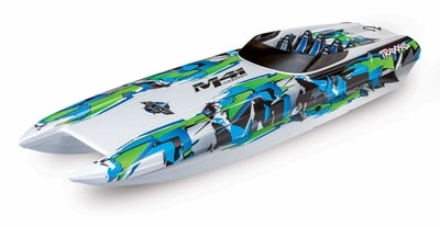 fastest rc boats traxxas
