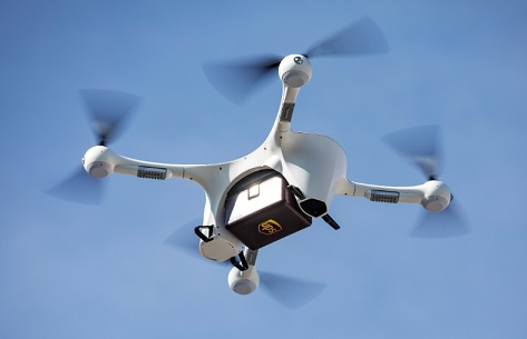 ups drone delivery approval by faa